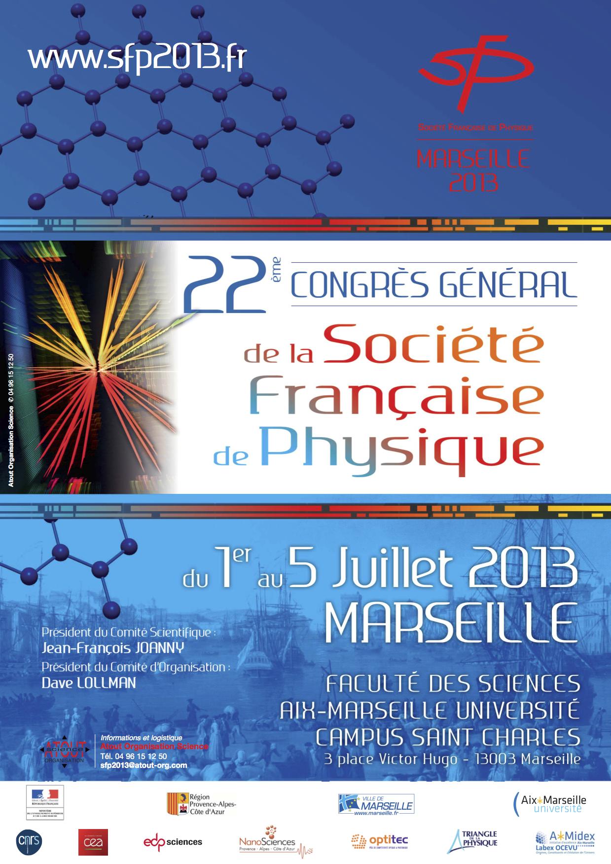 Congrès Général de la Société Française de Physique