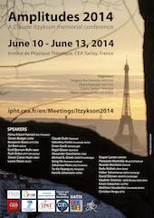 Amplitudes 2014, a Claude Itzykson memorial conference