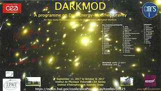 Programme PSI2 DARKMOD at IPhT & IAS
