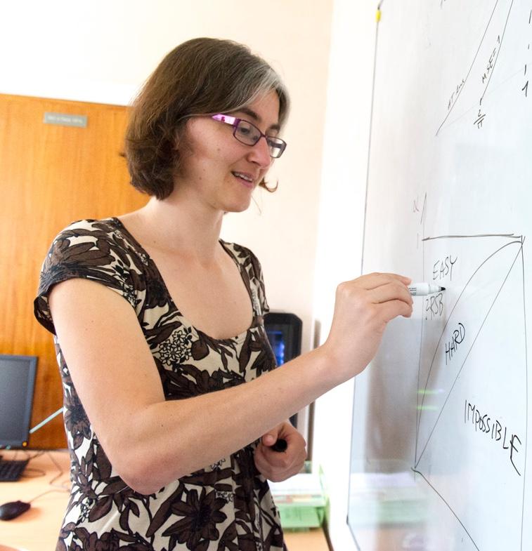 Lenka Zdeborovà is awarded the